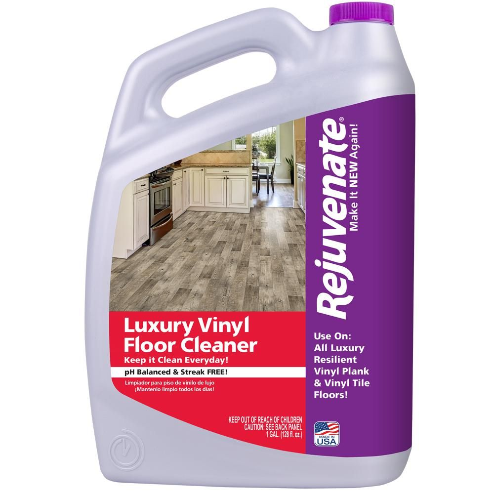 Home Depot Goods: Rejuvenate 128 Oz. Luxury Vinyl Floor Cleaner In 2019