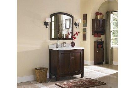 Lowes Allen Roth Vanity Item 394568 499 Bathroom
