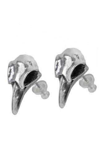 Alchemy Gothic Rabeschadel Stud Earrings 13 99