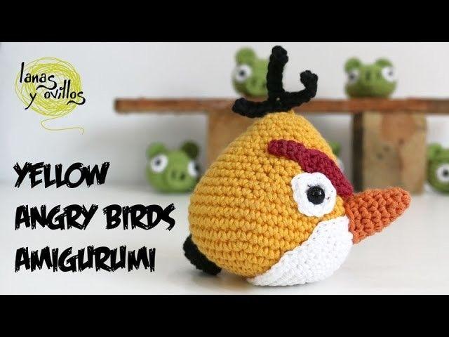 Amigurumi Bird Tutorial : Tutorial angry birds amarillo amigurumi yellow de english