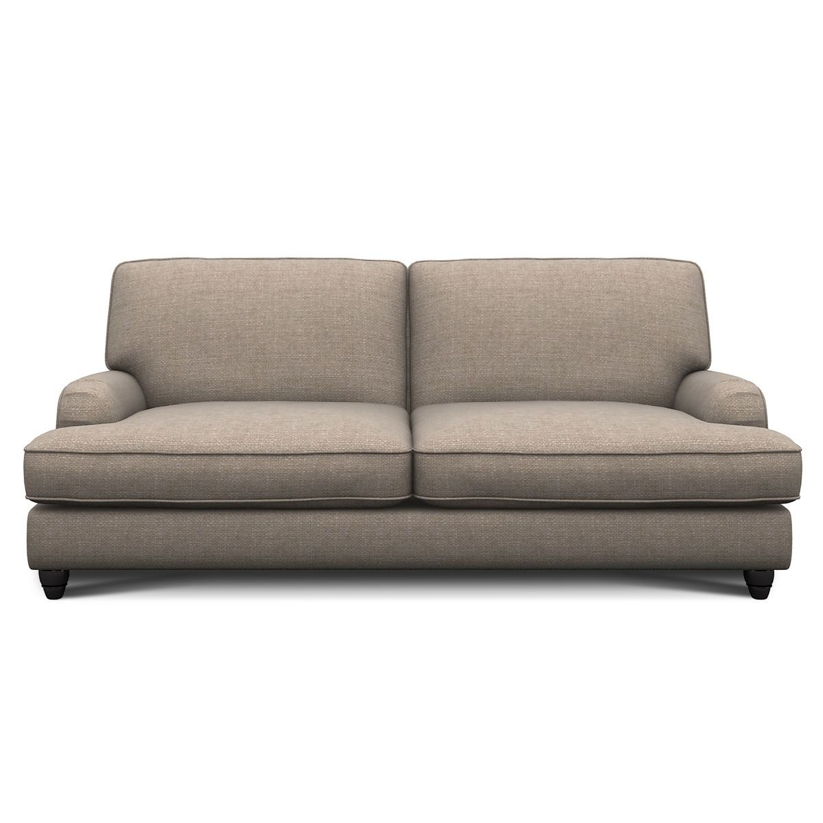 Notting Hill Fabric 3 Seater Sofa Next Day Delivery