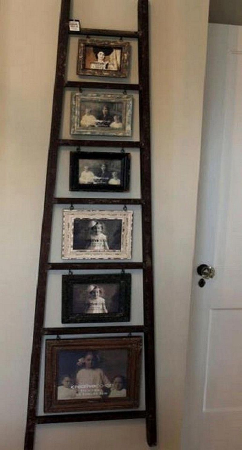 old ladders - put to new use