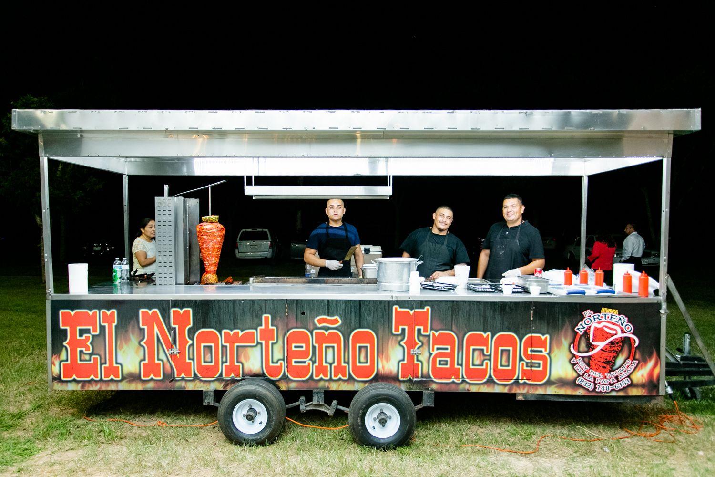 Wedding taco truck wedding reception diy event