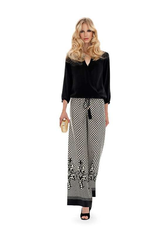 04127d9aa4e9 Top e pantaloni di Luisa Spagnoli - Completo da cerimonia con top modello  Baltica e pantalone modello Africa.