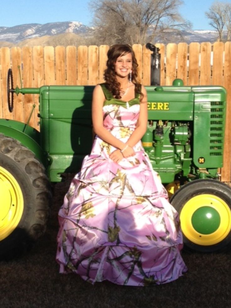 Country Style Prom Dress
