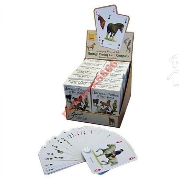 Karty Do Gry Konie I Kucyki Swiata Heritage 3120252526 Oficjalne Archiwum Allegro Card Companies Playing Cards Cards