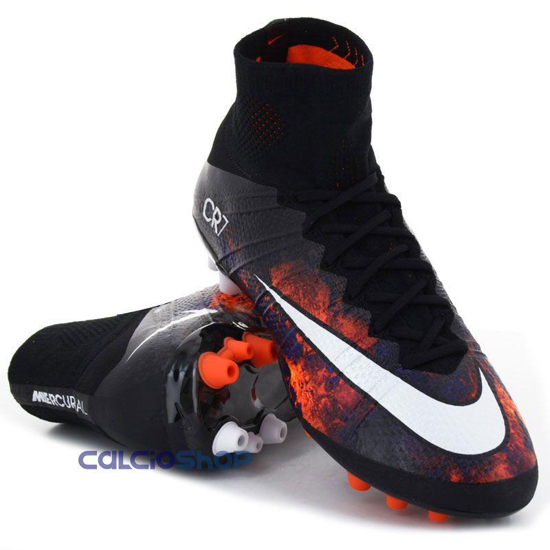 size 40 e9492 eee04 Nike - Mercurial Superfly AG CR7 Black | Scarpe | Scarpe da ...
