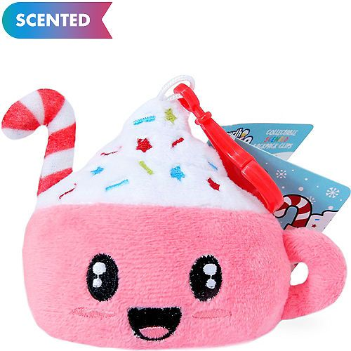 6d9b2c35e5c Clip-On Chocolate Cupcake-Scented Backpack Buddies Plush 3 1/2in x 3 ...