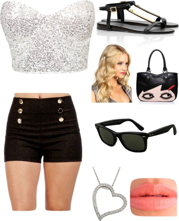 """""""algo no muy formal!"""" by paula-cervantes ❤ liked on Polyvore"""