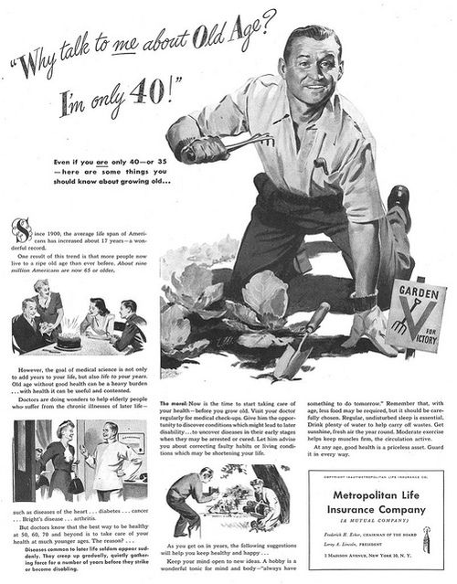 Vintage Metropolitan Life Insurance Company Ad They Ve Been