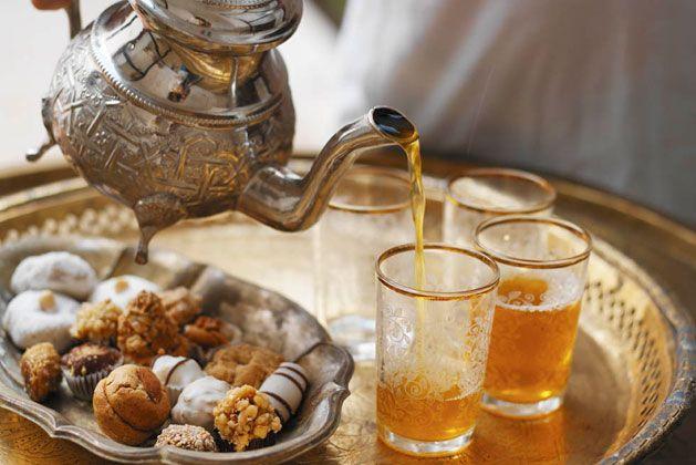 Moroccan tea set.