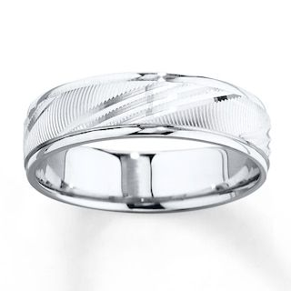 Wedding Band 10k White Gold 6mm Jared White Gold Mens Wedding Rings Mens Wedding Bands