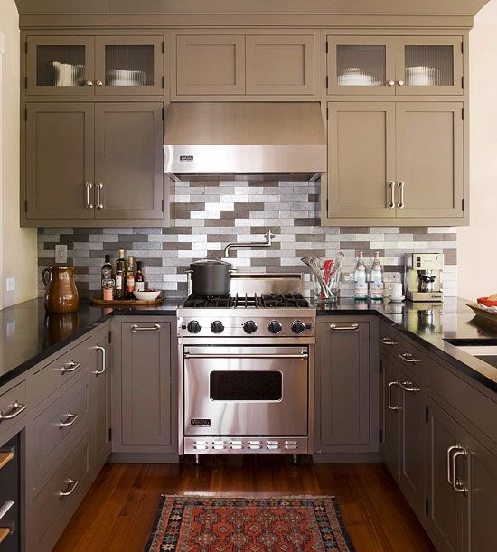 Small kitchen decorating ideas small kitchen decorating for Small kitchen ideas pinterest