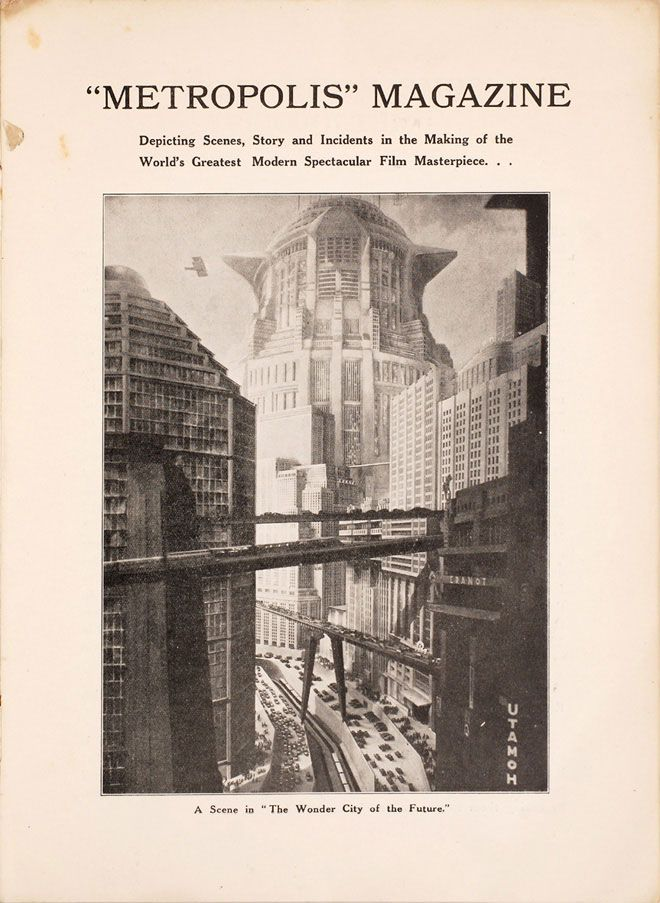 Recovered 1927 Metropolis Film Program Goes Behind the Scenes of a Sci-Fi Masterpiece