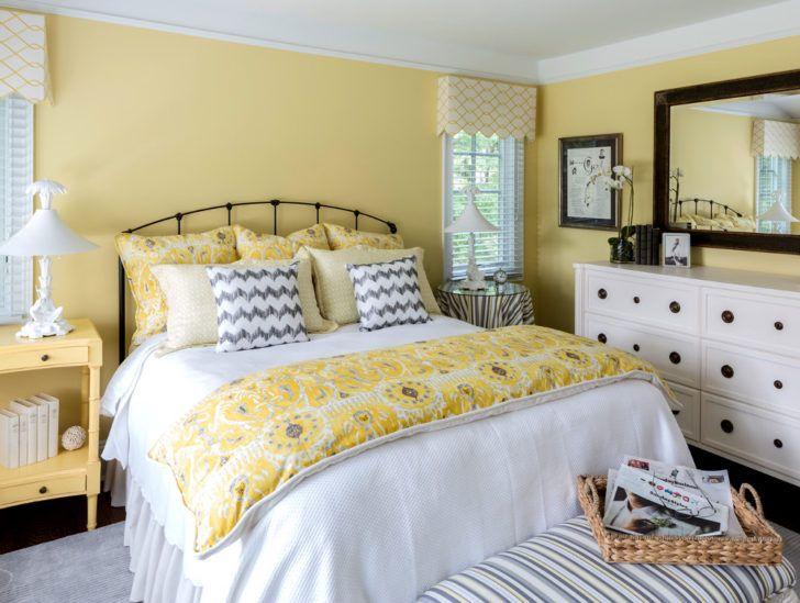 Dormitorio amarillo palido colores para interiores en - Colores de pintura para paredes de dormitorios ...