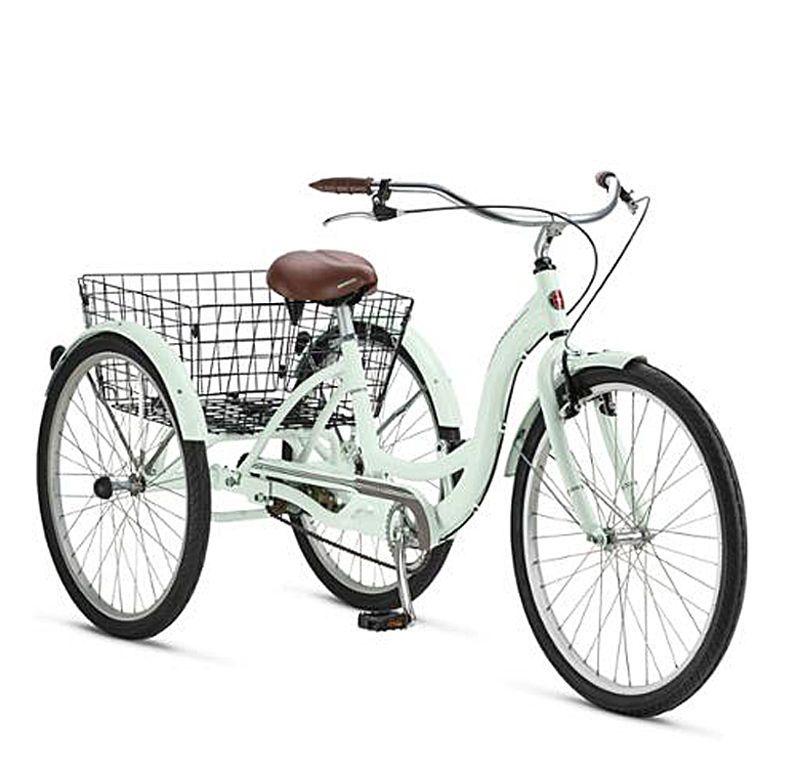adult tricycle folding basket bicycle aluminum frame trike. Black Bedroom Furniture Sets. Home Design Ideas