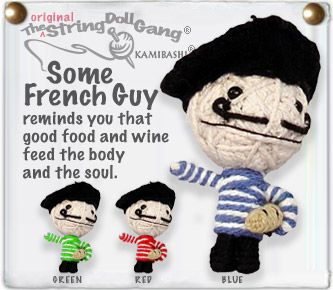 It's hard to pick just one of these cause they are all adorably awesome!! I just really like the name of this guy and he's holding a baguette!