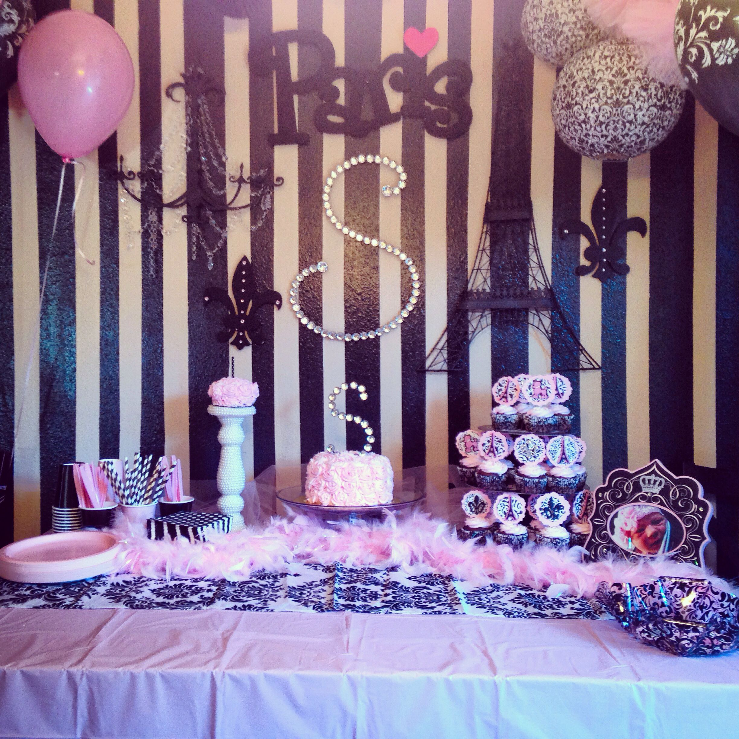 Paris Birthday | Bridal | Pinterest