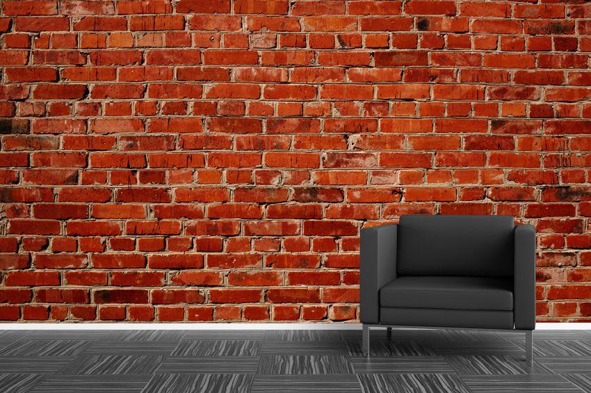 Papier peint Mur de brique CUISINE Pinterest Peindre mur, Murs - repeindre du papier peint