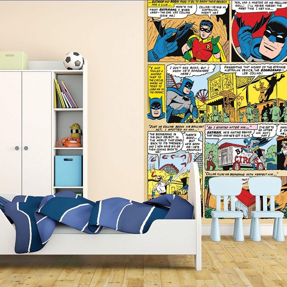 1 Wall 1 Wall Easy Hang Wallpaper Mural Batman Comic Panel