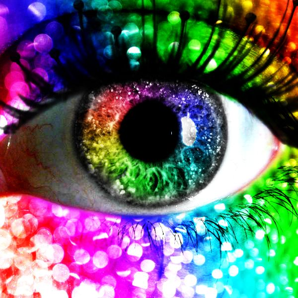 Image result for her eyes are broken lozenges of shifting glass patterns of rainbows kaleidoscope vision