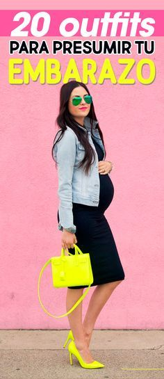 20 Lindos outfits que te harán lucir hermosa y presumir tu pancita de embarazada