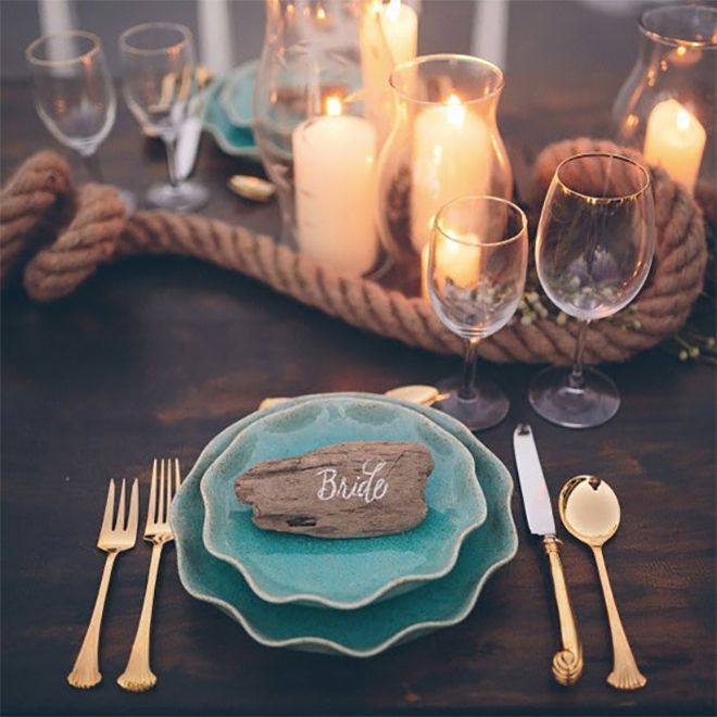 Explore Nautical Wedding Centerpieces And More