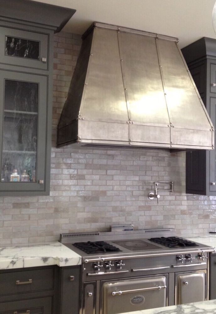 Details about Zinc Range Hood Fan Incl All Custom Sizes
