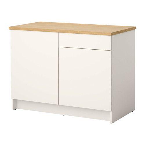 KNOXHULT Unterschrank mit Türen+Schublade, weiß | Lehrerzimmer. A-Z ...