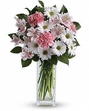 Sincerely Yours Bouquet by Teleflora Vase Arrangement
