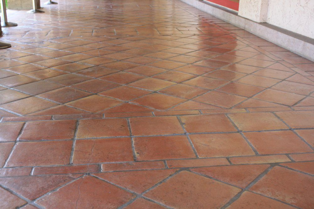 Floor Decor Tile Saltillo Tile Photos  Saltillo Floor Tile In A Diagonal Pattern