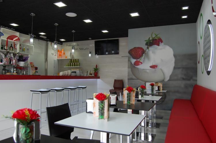 Helader a ideas helader as en 2019 decoraci n - Decoracion de cafeterias pequenas ...