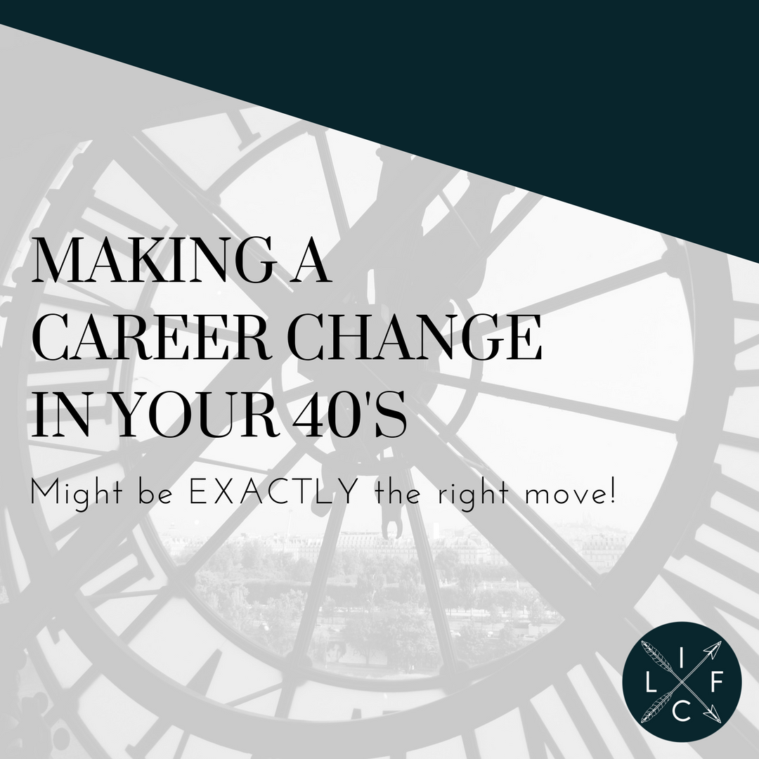 Making A Career Change In Your 40 S