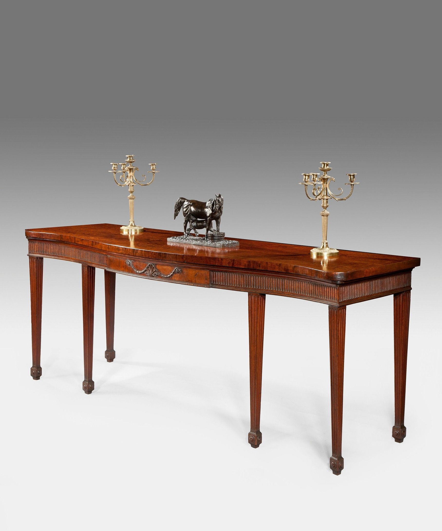 A Chippendale Mahogany Serving Table Georgian Furniture Chippendale Furniture Furniture