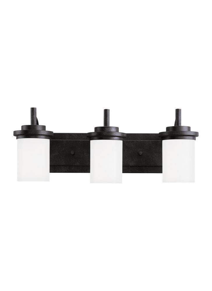 Sea Gull Lighting - Lámpara de vanidad de tres luces para ...