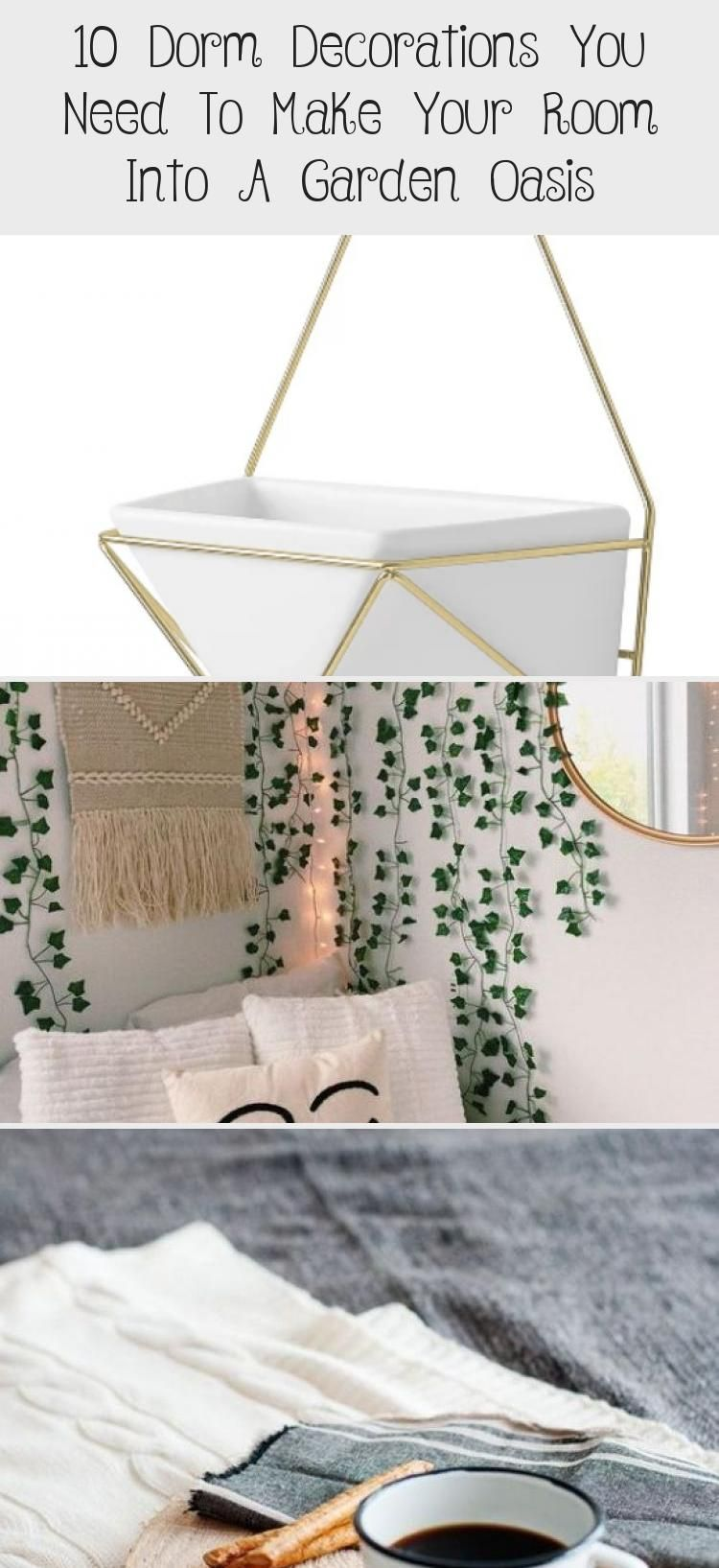 10 Dorm Decorations You Need To Make Your Room Into A Garden Oasis | boho