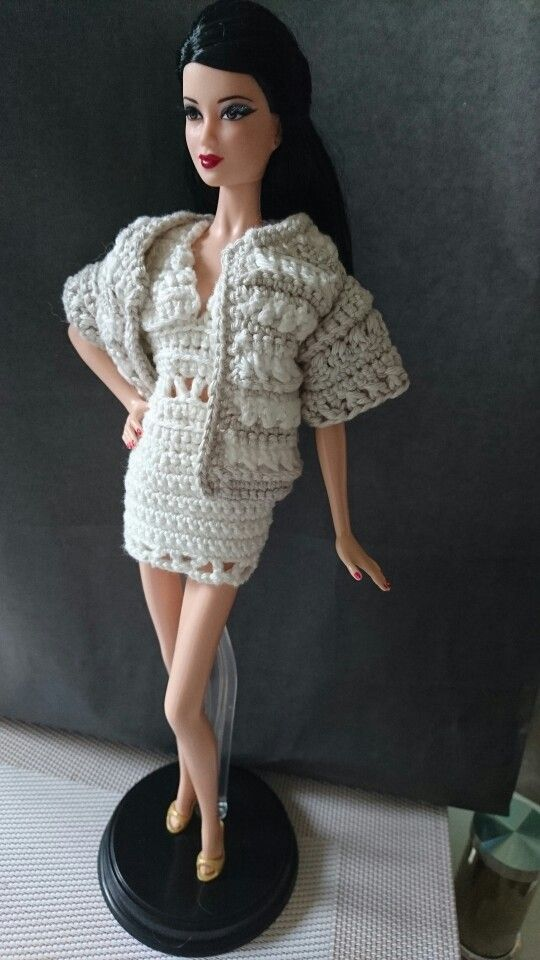 Pin de Kimberly Shelton en crochet/knit for dolls | Pinterest | Ropa ...