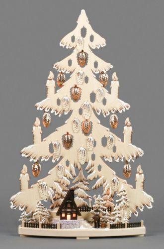 Tannenbaum Erzgebirge.Tannenbaum Mit Waldhütte Erzgebirge In Antiquitäten Kunst