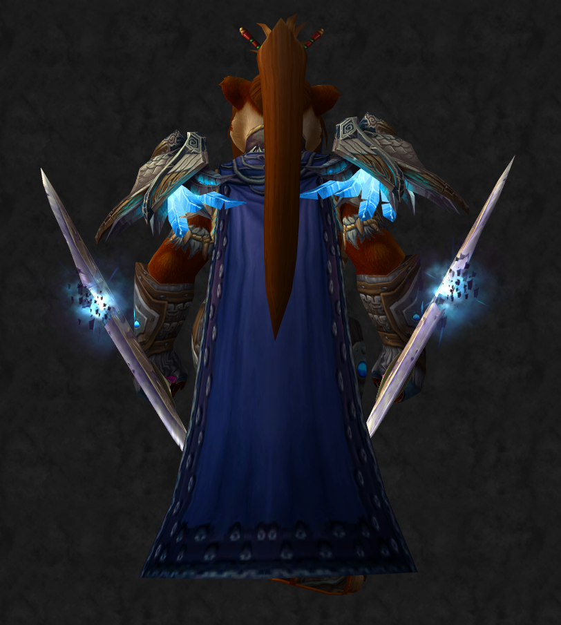 Female Pandaren Shaman Transmog Awesome World of Warcraft Weapons online