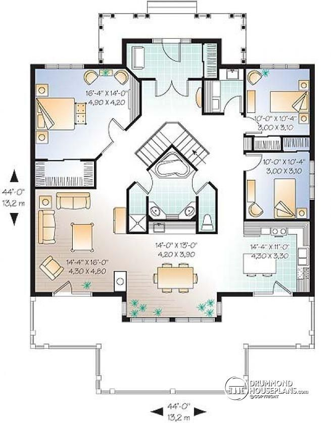 Image Result For Island Basement Plans | Basements | Pinterest