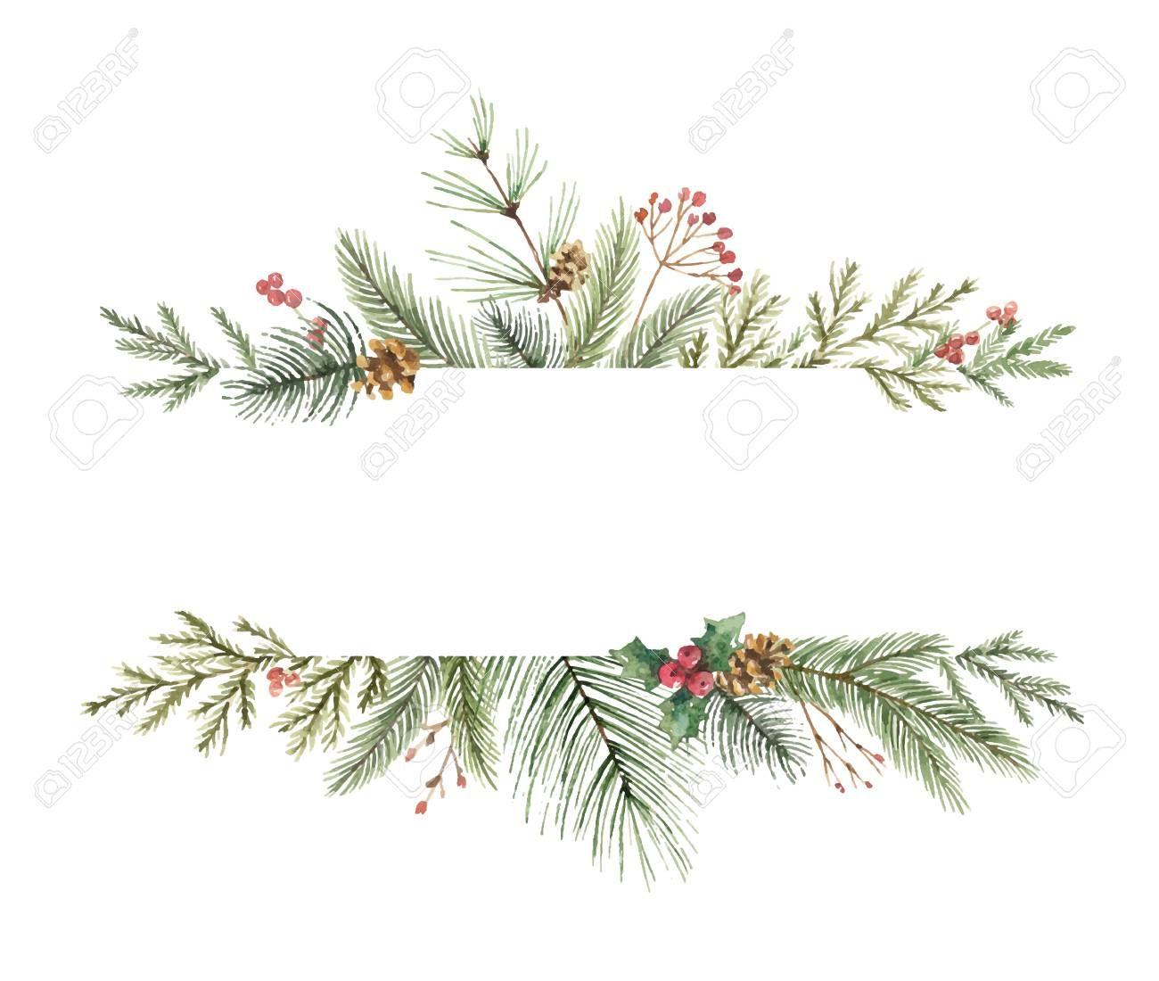 Photo of Christmas decor watercolor design. , #SPONSORED, #decor, #Christmas, #design, #w …