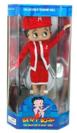 "Betty Boop ""Fight Attendantt"" Collectible Fashion Doll with Stand by Precious kids. $22.95. Save 34% Off!"