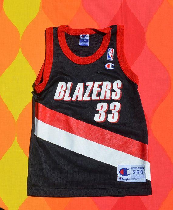 797c039273c0 vintage 90s kid s basketball jersey scottie PIPPEN portland trailblazers  blazers nba youth Small 6 8 champion by skippyhaha