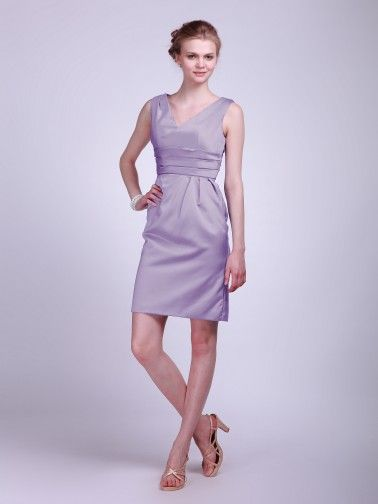 Classy Satin Bridesmaid Dress | Plus and Petite sizes available! Hundreds of styles, tons of colors!