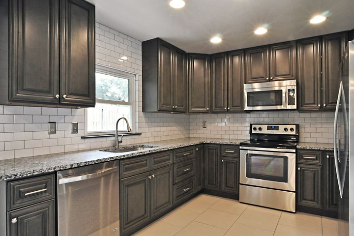 Cabinets To Go | Customer Remodels Gallery Classic Gray ...