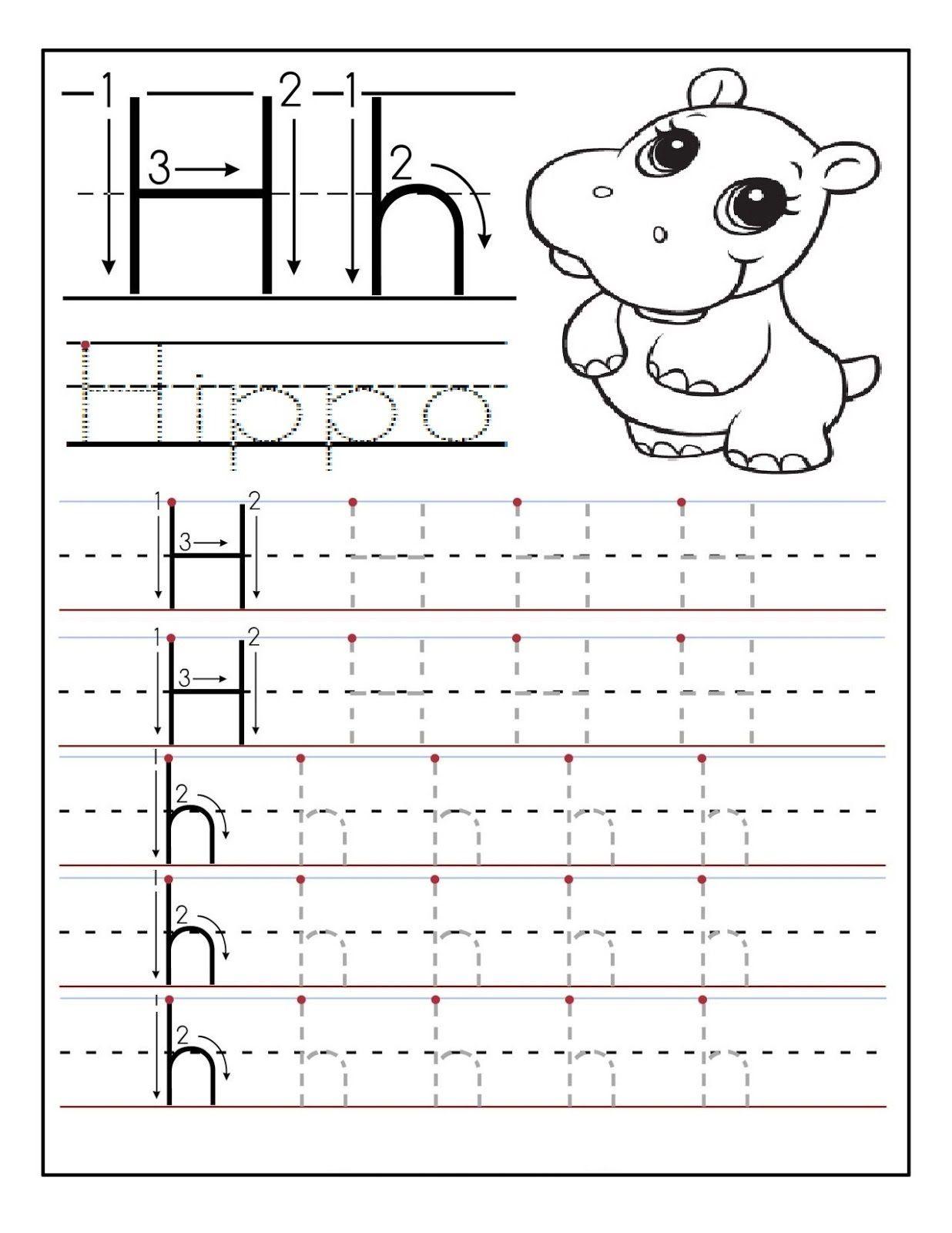 image result for letter h worksheets daycare ideas preschool writing preschool worksheets. Black Bedroom Furniture Sets. Home Design Ideas