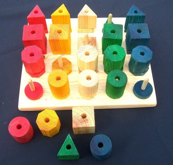 Wooden Educational Toy Bead Board by Maukawoodwerks on ...