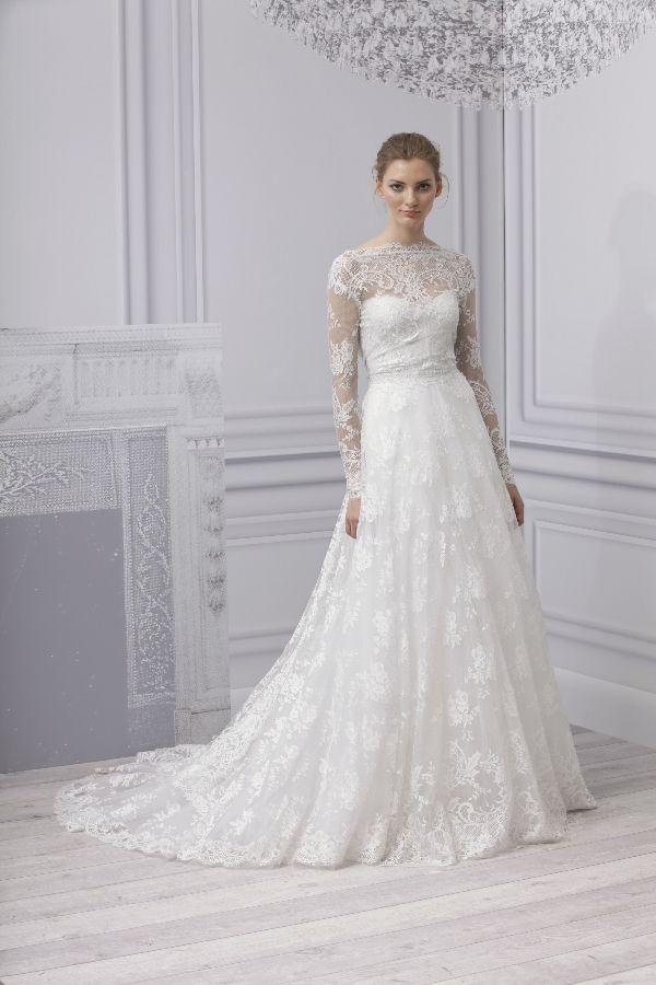 Brautkleid Langarm Spitze Friedatheres Wedding Dress Pinterest