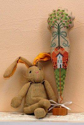 Sylvia's: Easter Carrot tutorial