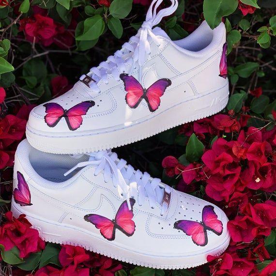 Nike Shoes, Custom Nike, Butterfly Shoes, Custom Shoes ...